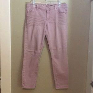 Gap pink jeans